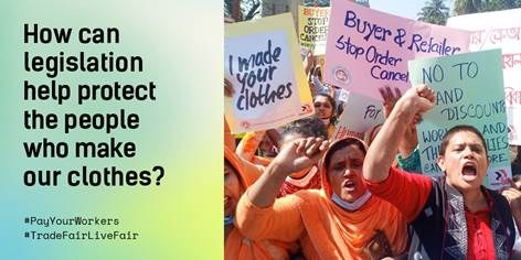 Marking Human Rights Day: How can legislation help protect the people who make our clothes.