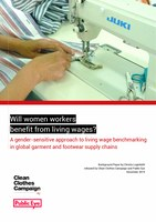 Will women workers benefit from living wages? A gender-sensitive approach to living wage benchmarking in global garment and footwear supply chains