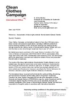 Letter to Guatemalan President