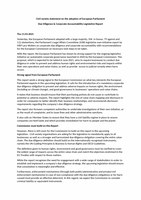 Civil society statement on the adoption of European Parliament Due Diligence & Corporate Accountability Legislative Report