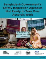 Bangladesh Government's Safety Inspection Agencies Not Ready to Take Over Accord's Work