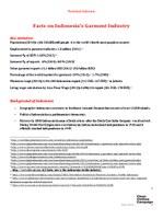 Indonesia Factsheet February 2015