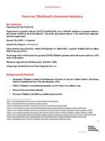 Thailand Factsheet February 2015