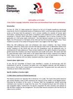 Joint position on Sri Lanka GSP+ Status