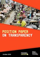 Position Paper on Transparency