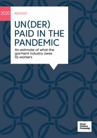 Un(der)paid in the pandemic. An estimate of what the garment industry owes its workers