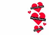 Valentine's Day card #PayYourWorkers