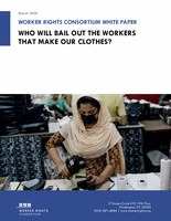 Who Will Bail Out The Workers That Make Our Clothes?
