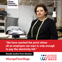 The Europe Floor Wage benchmark estimates a living wage for garment workers in Central, East and Southeast Europe