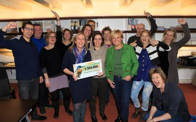 Recognition of our work: the major charity lottery in the Netherlands supports CCC