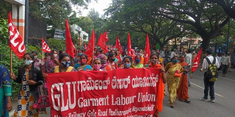 GLU protest