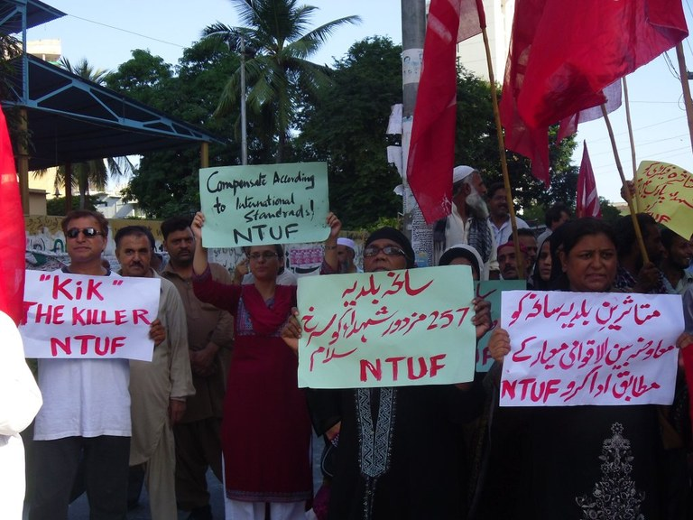 When 'business as usual' costs lives: workers in Pakistan call for a binding safety agreement
