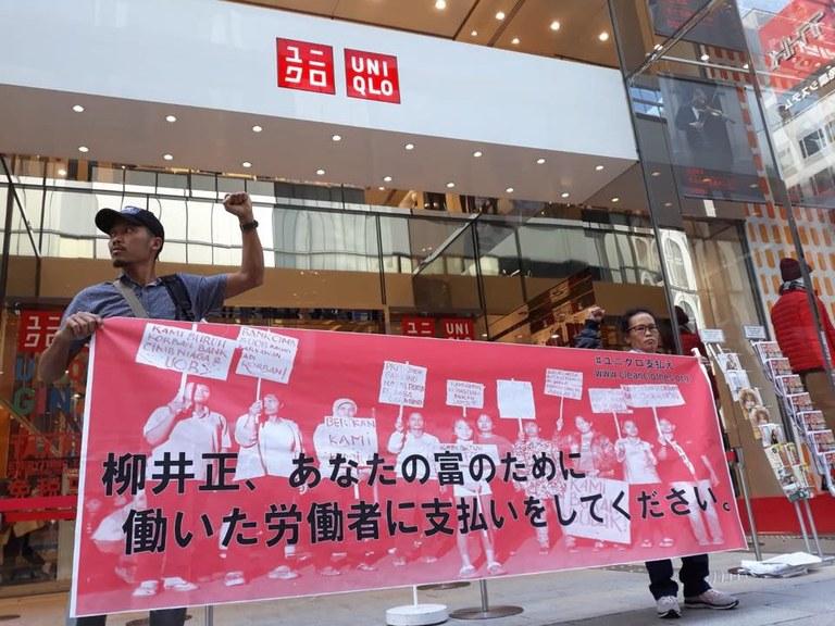 Uniqlo protest