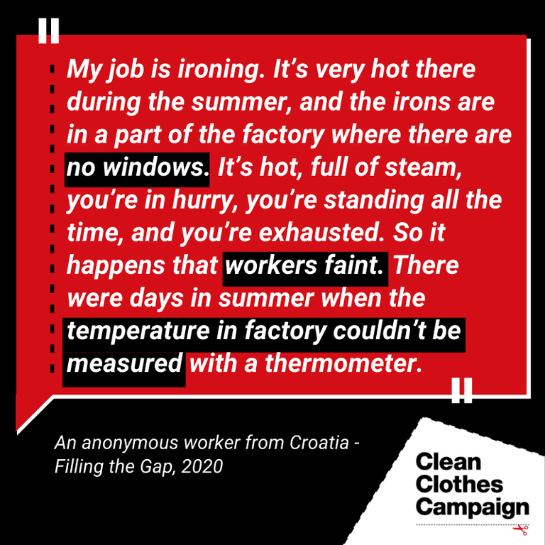 Worker Fainting Croatia Quote