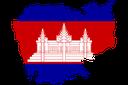 Cambodia MapFlag