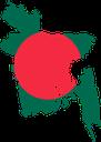 Flag map of Bangladesh.svg