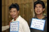 Good News: Release of Born Samnang and Sok Samoeun