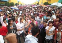 Cambodia wages strike: Sacked workers still waiting for justice