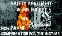 Compensation not charity for fire and collapse victims