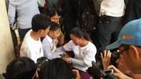 Arrested union leader Vorn Pao speaks from prison
