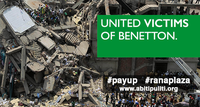 Take action: Make sure Benetton pays what they owe