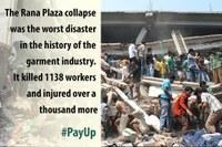 Rana Plaza: Countdown to second anniversary begins with compensation fund still $9 million short