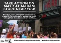 """Labour groups demand H&M deliver """"safety conscious"""" fashion"""