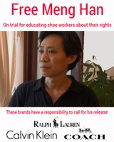 Chinese Labour Rights activists still in prison