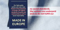 Report finds aMade in Europea label tied to garment and shoe production in European sweatshops