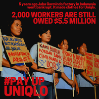 Former Uniqlo garment workers vulnerable due to COVID-19 restrictions on fifth anniversary of factory closure