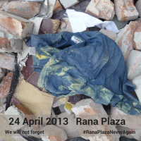 Remembering the Rana Plaza workers by continuing the fight for workers' rights during the pandemic
