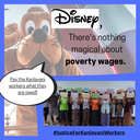 Tell Disney, Starbucks and NBCUniversal there's no magic in poverty wages