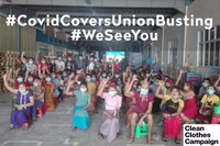 Union busting in Myanmar under guise of Covid-19