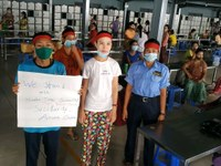 Union victory at the Huabo Times factory in Myanmar