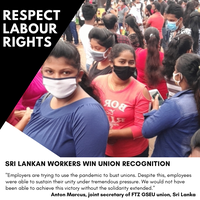 A union rights win for Next workers in Sri Lanka!