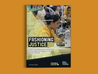 Fashioning justice: Clean Clothes Campaignas latest publication calls for mandatory and comprehensive human rights due diligence