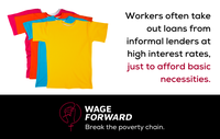 Wage Forward: Break the poverty chain.